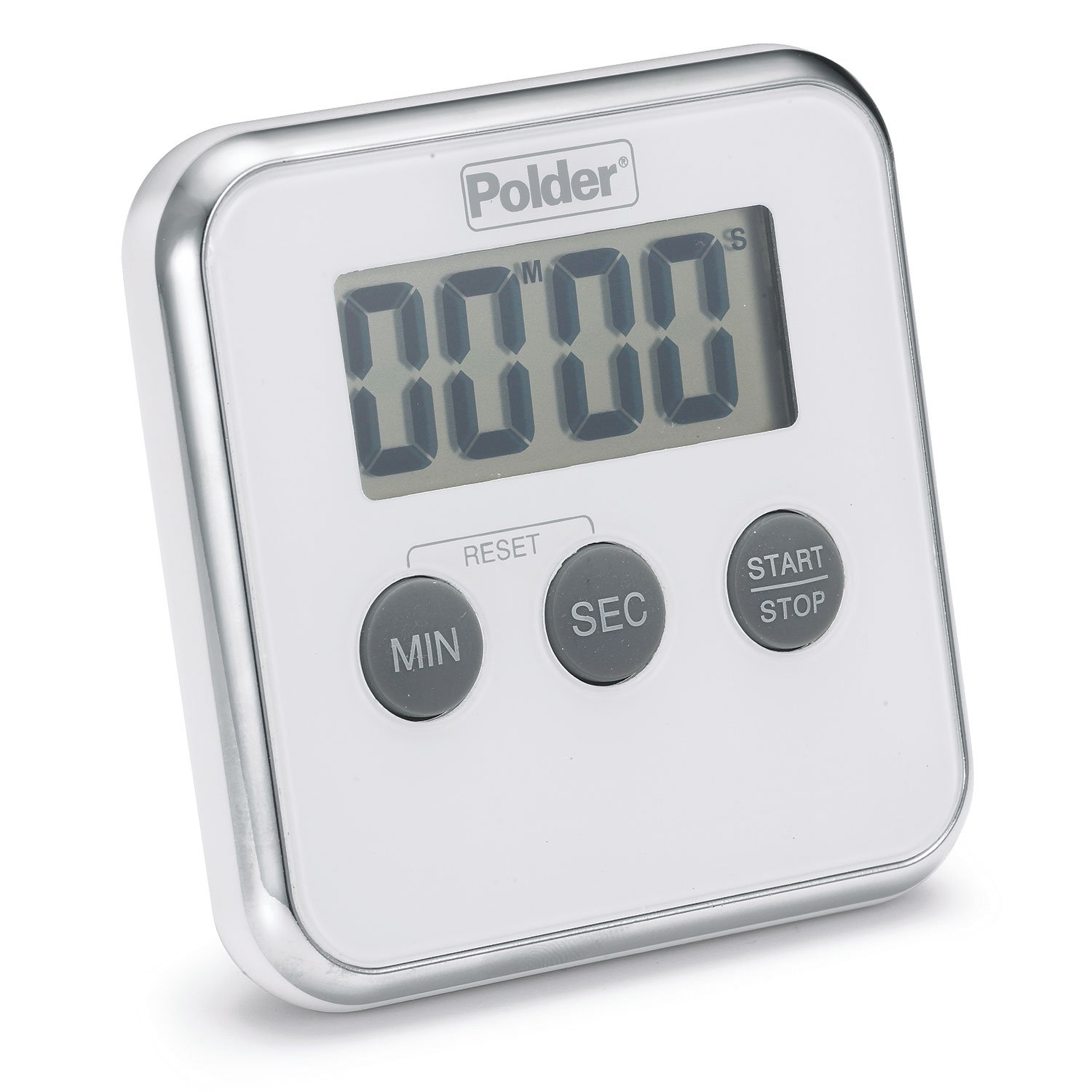 Amazon.com: Polder TMR-606-90 Digital Kitchen Timer with Magnet and ...