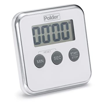 Great Amazon.com: Polder TMR 606 90 Digital Kitchen Timer With Magnet And Stand,  White: Kitchen U0026 Dining