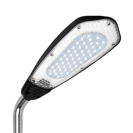 Farola LED, luz de seguridad para exterior con sensor crepuscular, impermeable, luz IP65