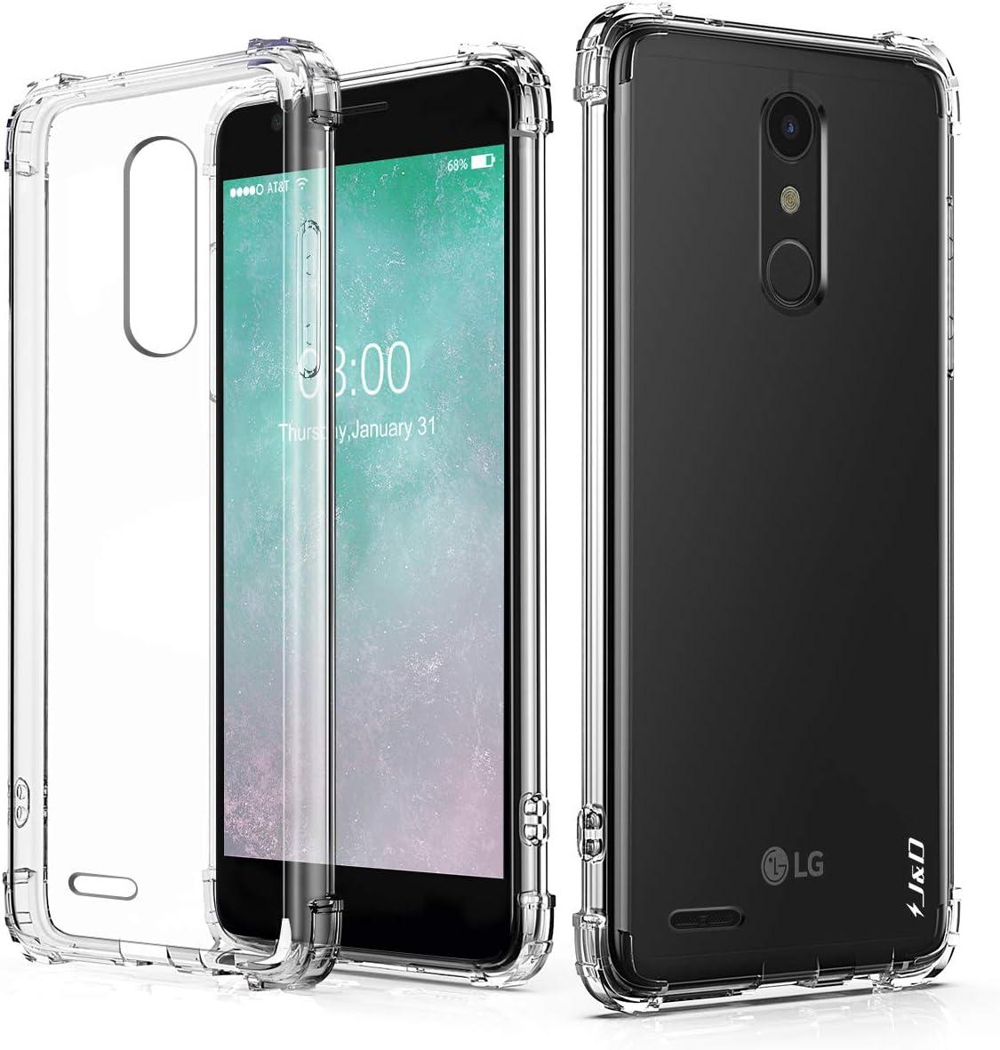 J&D Compatible para LG K30/LG K10 2018/LG K11 Case, [Cojín de ...