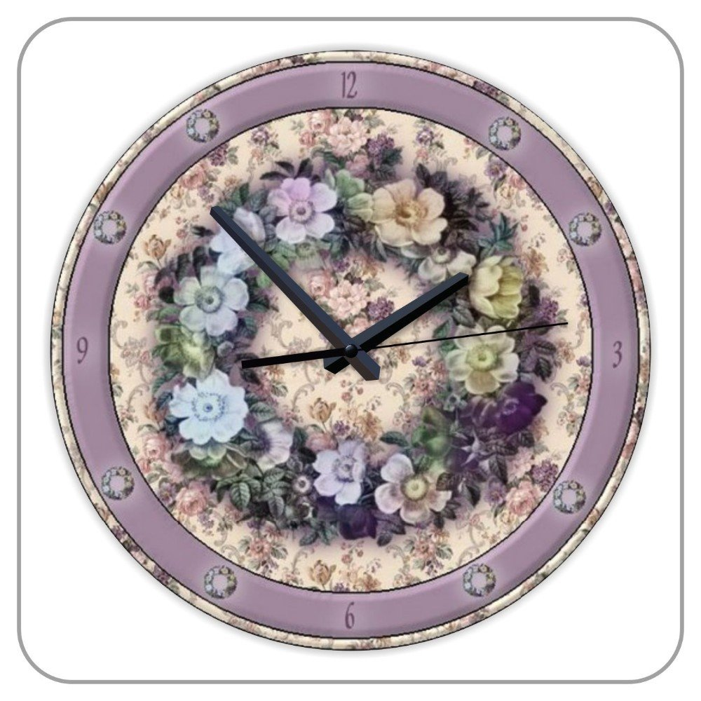 Amazon.com: 12inch Stylish Decorating Ideas Wall Clock with ...