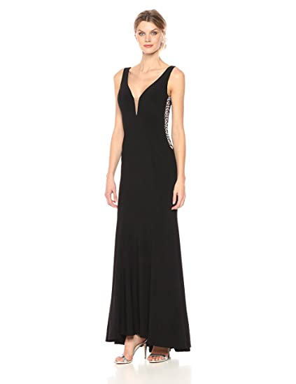 Black prom dress xscape