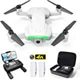 Holy Stone HS510 GPS Drone for Adults with 4K UHD WiFi Camera Anti-Shake, FPV Quadcopter Foldable for Beginners with Brushless Motor, Return Home, Follow Me,2 Batteries and Storage Bag, Grey