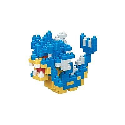 Nanoblock Gyrados Pocket Monsters + Gift Tweezers Plastic Cube Building Blocks (Smartoys): Toys & Games