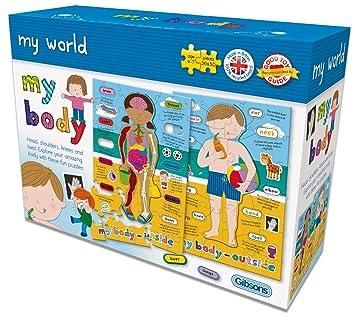 Gibsons my world my body jigsaw puzzle amazon toys games gibsons my world my body jigsaw puzzle gumiabroncs Choice Image