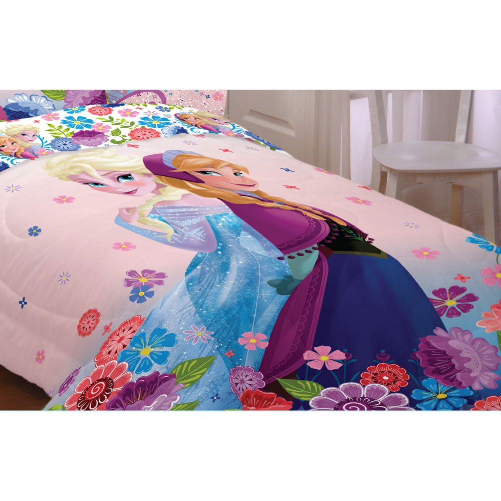 Disney Twin/full Comforter Floral Breeze