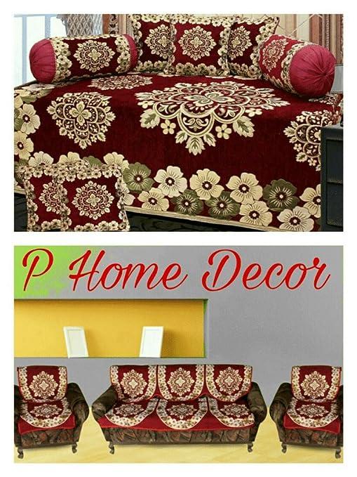 Enjoyable Diwan Set And Sofa Cover Set Combo Cjindustries Chair Design For Home Cjindustriesco