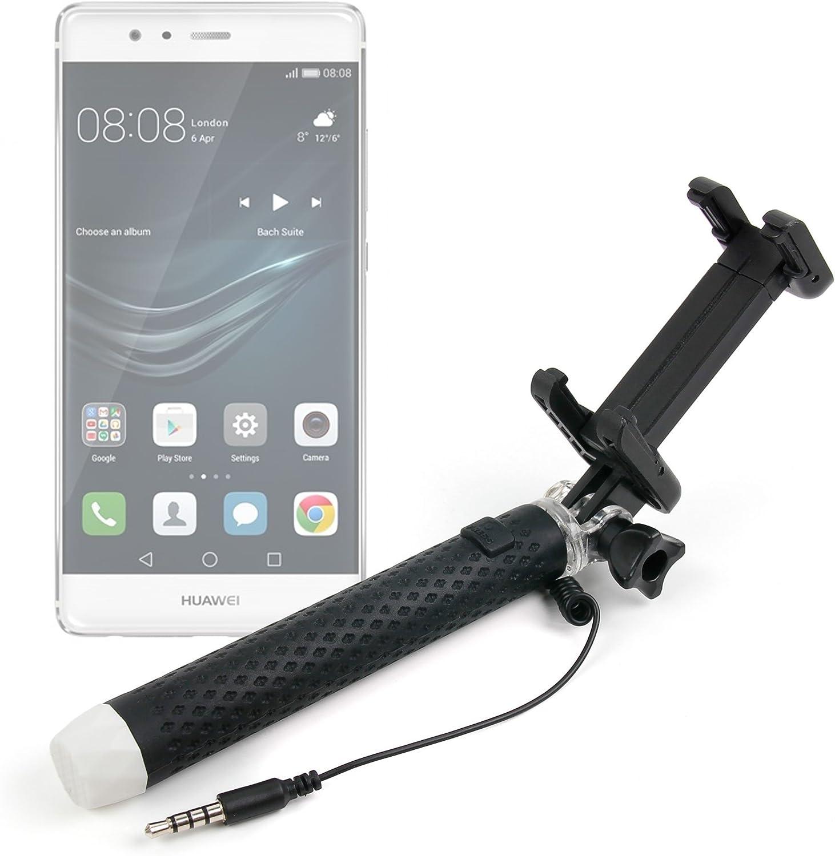 DURAGADGET Exclusivo Palo Selfie (Selfie-Stick) Extensible para Smartphones Huawei Mate 8 / GX8 / P9 Plus / P9 / P9 Lite/Honor V8: Amazon.es: Electrónica