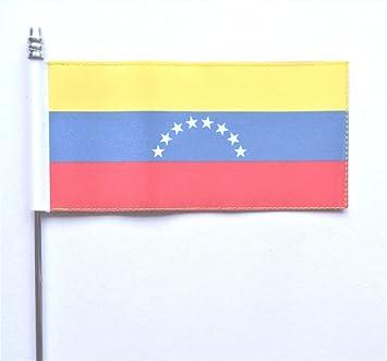 Venezuela 8 estrellas Federal Ultimate mesa escritorio bandera: Amazon.es: Jardín