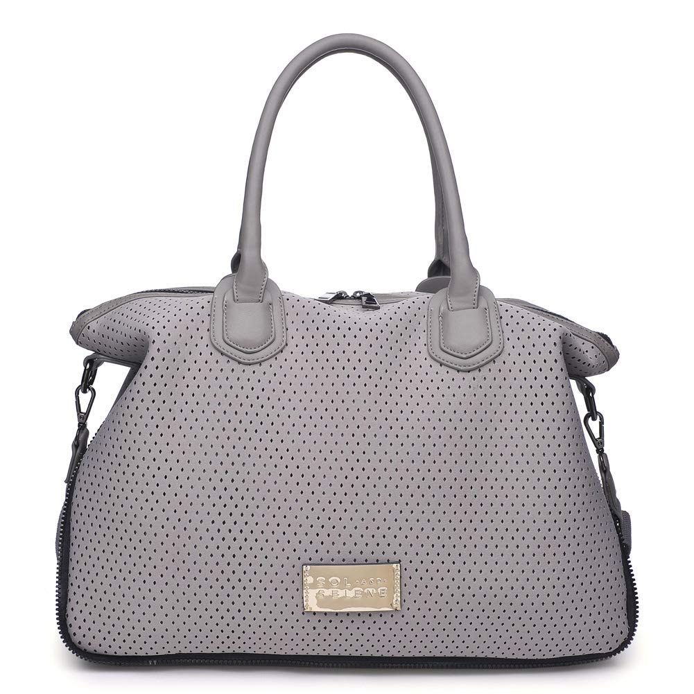 Sol and Selene Women's High Impact Tote Gym, Grey, One Size