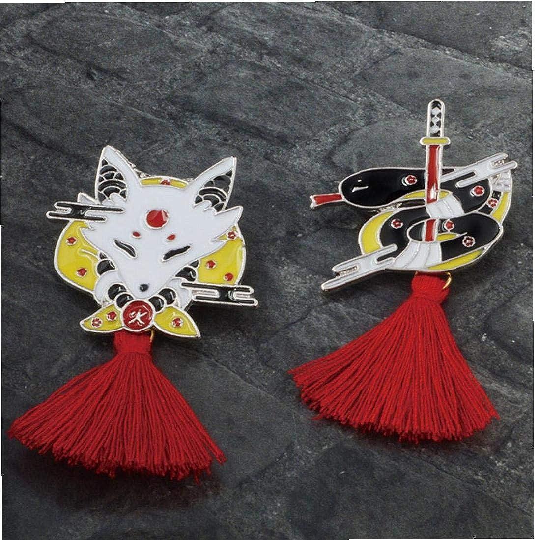 Aisoway Maschio Forma Spilla Colourful Nappa Spilla Spilla di Favori Ragazze di Partito