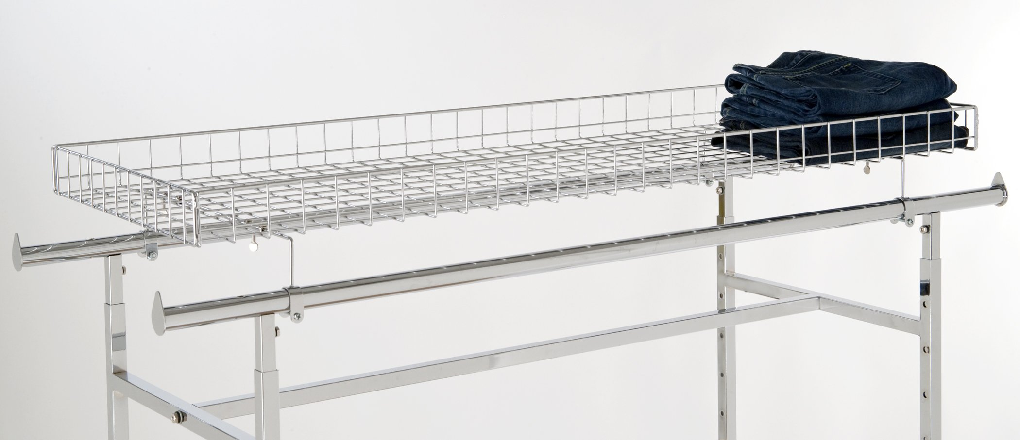 Econoco Commercial Grid Basket Racktopper
