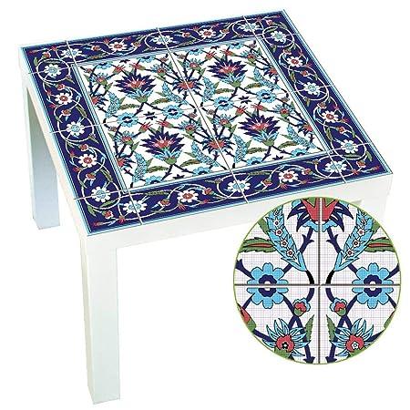 Estilo marroquí: adhesivo de renovación de mesas, autoadhesivos de ...