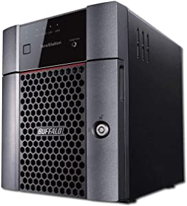 BUFFALO TeraStation 3410DN Desktop 4 TB NAS Hard Drives Included (2 x 2TB, 4 Bay)