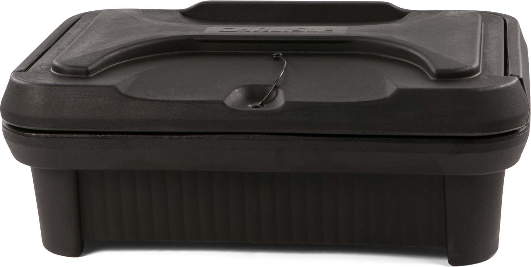 Carlisle XT140003 Cateraide Insulated Food Pan Carrier, Top Loading, 4'', Black