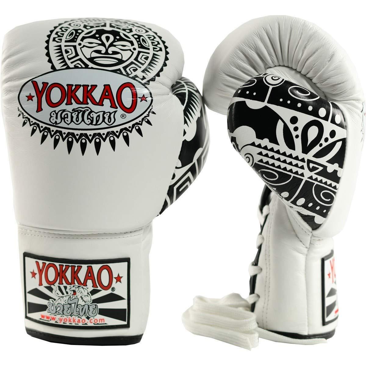 Muay thai Gloves Training Sparring Unisex Boxing MMA Kickboxing PU leather