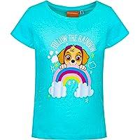 Camiseta de manga corta para niña de La Patrulla Canina.