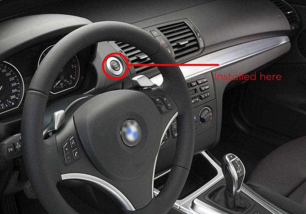 Amazon.com: Engine Immobilizer For Car - BW Smart RFID Car Alarm Systems, Automatic Lock Feature, RFID Engine Lock, Push Button Engine Start, ...
