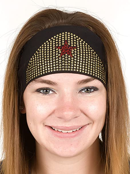 Open Road Girl Hair Bandana  Biker Chick Tie-Back Stretchy Head Wrap ... a2717650517