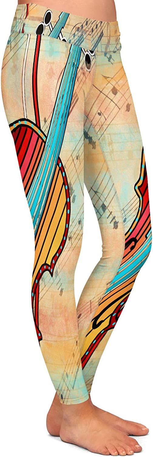 Athletic Yoga Leggings from DiaNoche Designs by Dora Ficher Melody 2