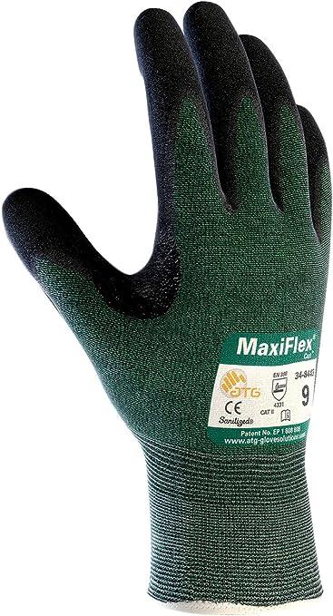 xl Maxiflex 34-8743// Cut Resistant Gloves Green  6 Pairs