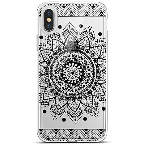 coque iphone xs max transparente motif