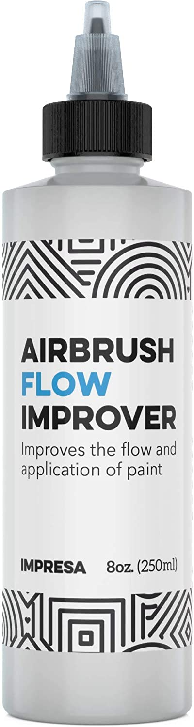 Airbrush Flow Improver Paint Set 8oz (250 ml) Reduce Clogs & Dry Needle Tips by Impresa: Toys & Games