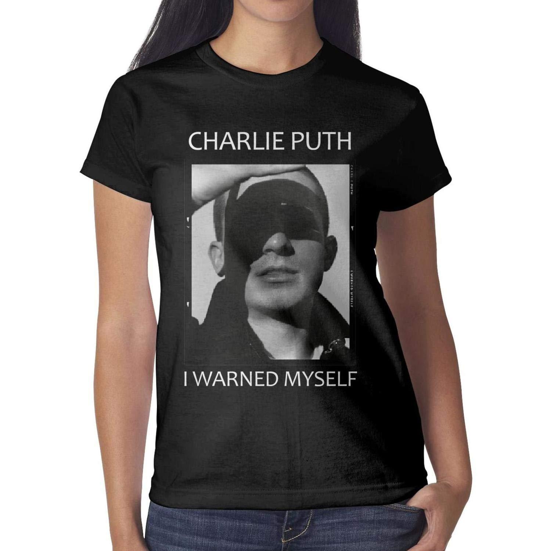 Heart Wolf Charlie Puth I Warned Myself S T Shirt Crew Neck Basic Fashion Shirt