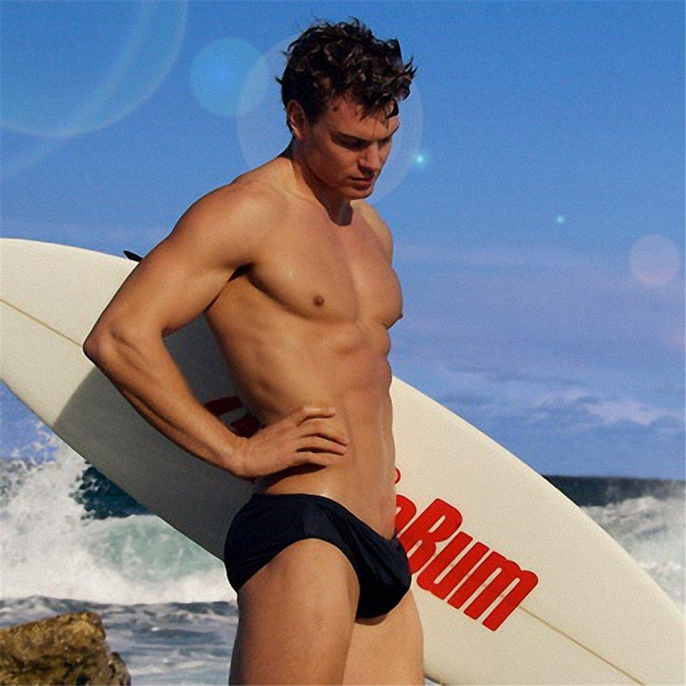BaronHong Swim Trunks Beach Short Mens Designer Swimwear Bathing Suits Surfing Briefs 2017032780