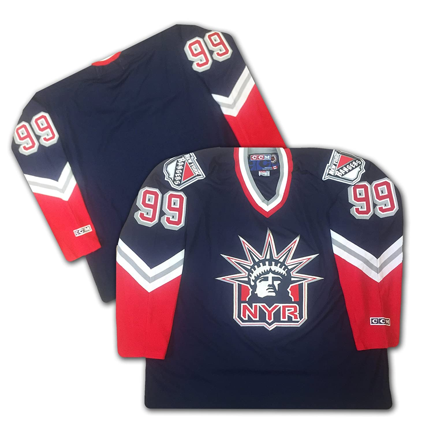 huge discount 38146 fd32b Amazon.com: New York Rangers Liberty Jersey: Sports Collectibles