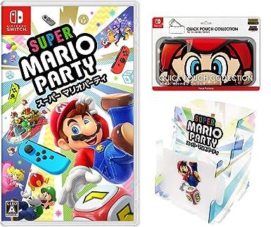 amazon スーパー マリオパーティ quick pouch collection for nintendo