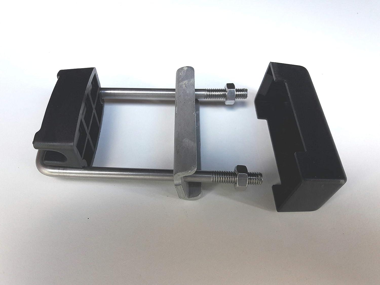 40x50mm 40x60mm 40x80mm 40x100mm OuM 20 St/ück U-B/ügelset 40x40mm zur Zaunbesfestigung