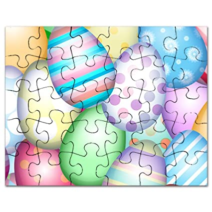 Amazon Com Cafepress Decorated Eggs Jigsaw Puzzle 30 Pcs