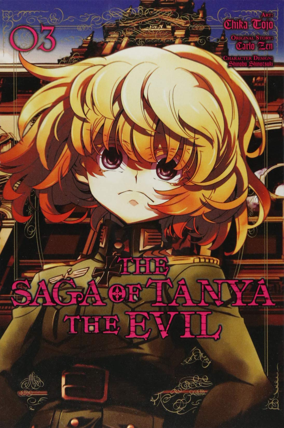 The Saga Of Tanya The Evil Vol. 3  Manga   The Saga Of Tanya The Evil  Manga  Band 3