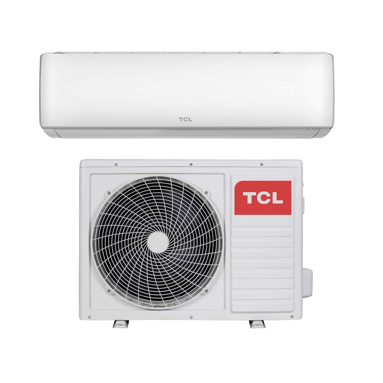 Wall Mounted Air Conditioning Unit with 5 years warranty 12000 BTU Smart WiFi A+ easy-fit DC Inverter Wall Split Air Conditioner with 5 meters pipe kit