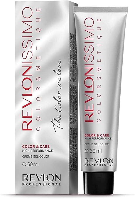 Revlon Revlonissimo Colorsmetique, Tinte para el Cabello 741 Rubio Avellana - 60 ml