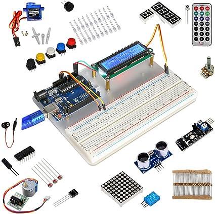 Kit de aprendizaje para programar KOOKYE para Arduino, Raspberry Pi none UNO R3 Starter kit for Arduino: Amazon.es: Informática