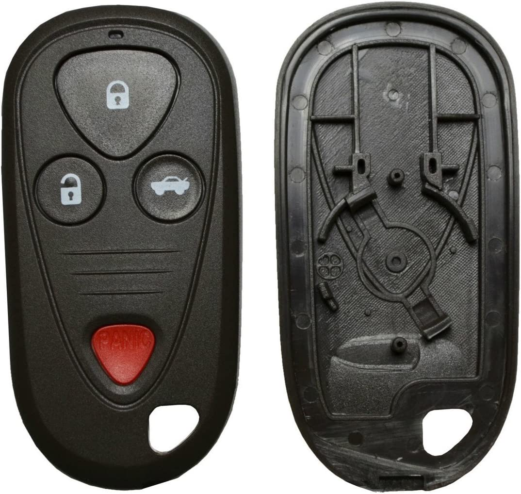 For Honda Acura CL RL TL TSX New 4 Buttons Replacement Remote Entry Keyless Key Fob Shell Case No chips Inside