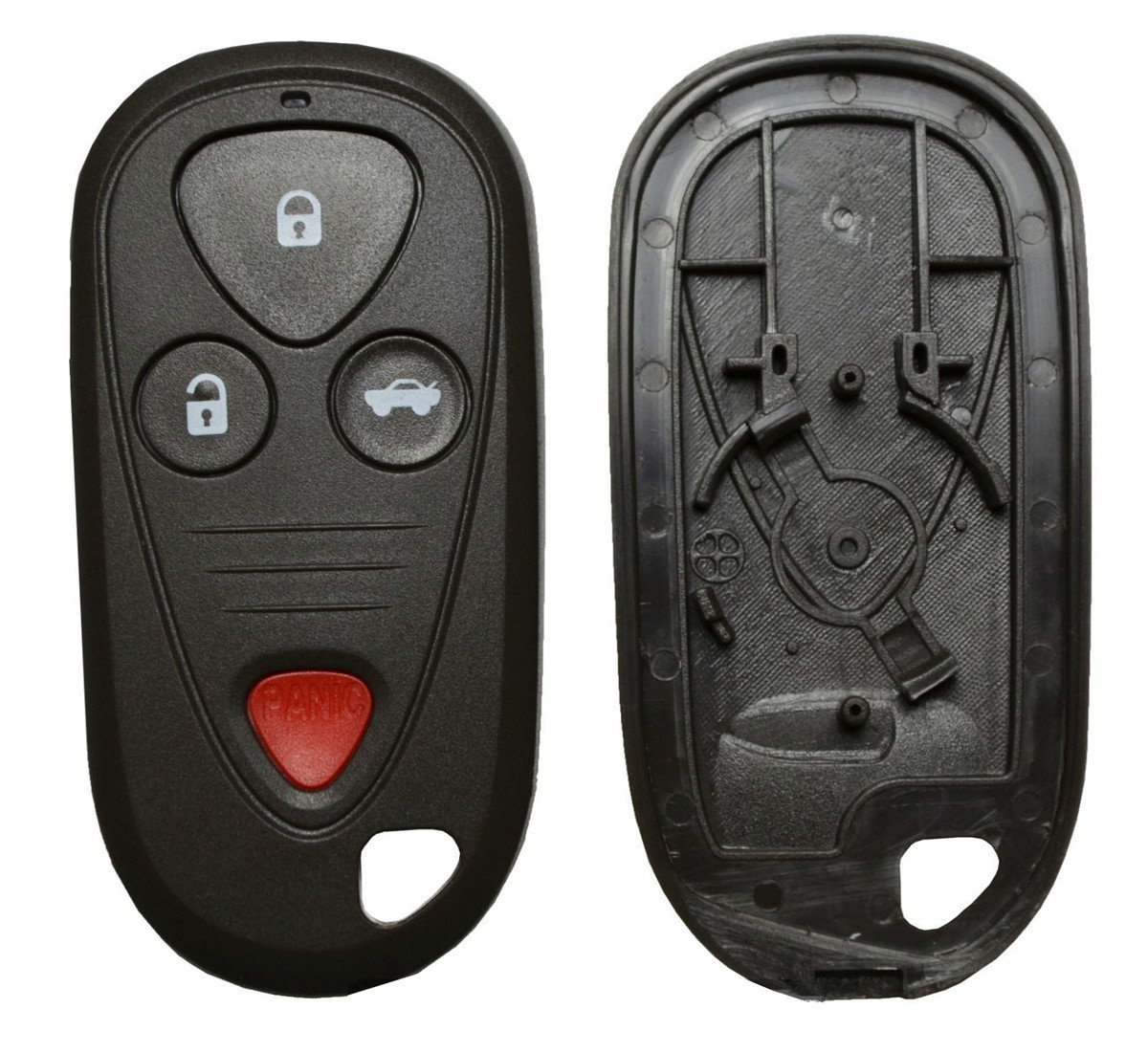 New Replacement Remote Key Keyless Fob Case 4 Buttons Tsx Alarm Wiring Diagram Shell For Acura Tl Rl Cl Just A Empty No Chips Inside Automotive