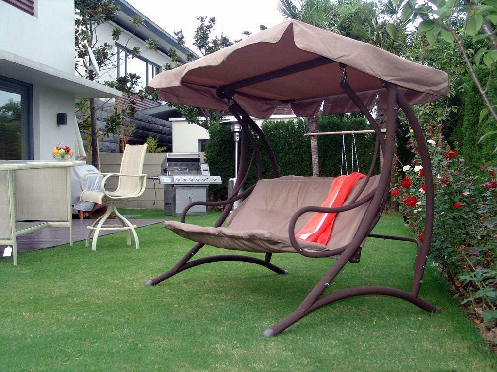 Étui Housse Premium en Tissu Oxford 300D imperméable et résiste aux UV pour Meubles de Jardin Balançoire Chaise Chaise de Jardin Relax Chaise, Compatible pour env. 240 W * * 115/150D 135h