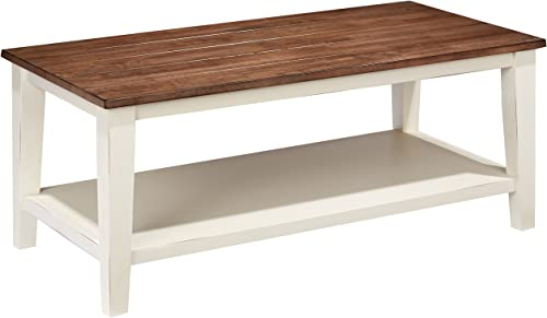 Lane Home Furnishings 7557-45 Cocktail Table, Greige White