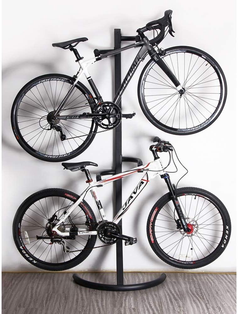 Mhwlai Portabicicletas Interior, portabicicletas, portabicicletas, Soporte para Bicicleta, Espacio de Reciclaje, Altura de suspensión Ajustable: Amazon.es: Deportes y aire libre