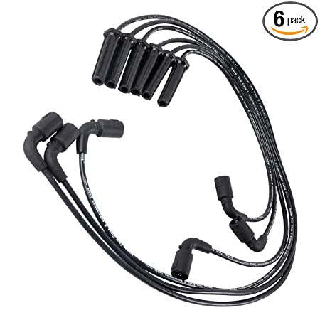 Amazon Com New Spark Plug Ignition Wire Set 7mm 6 Pack 671 6070