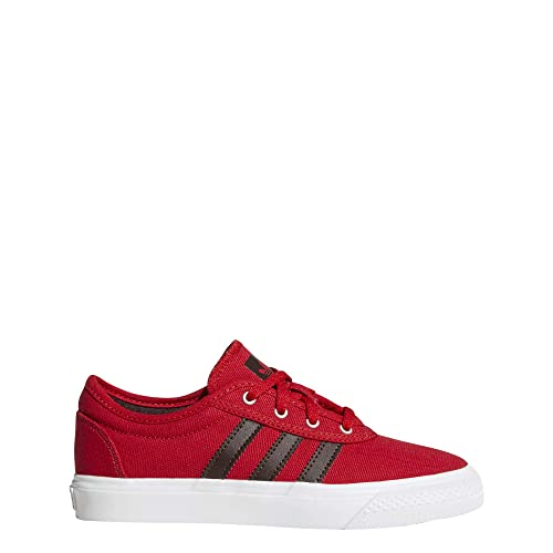 quality design a99b0 3e237 adidas Adi-ease J Kids Skate Trainers in Red Chocolate - 3 UK