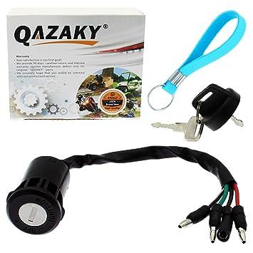 Amazon.com: QAZAKY Interruptor de llave de encendido para ...