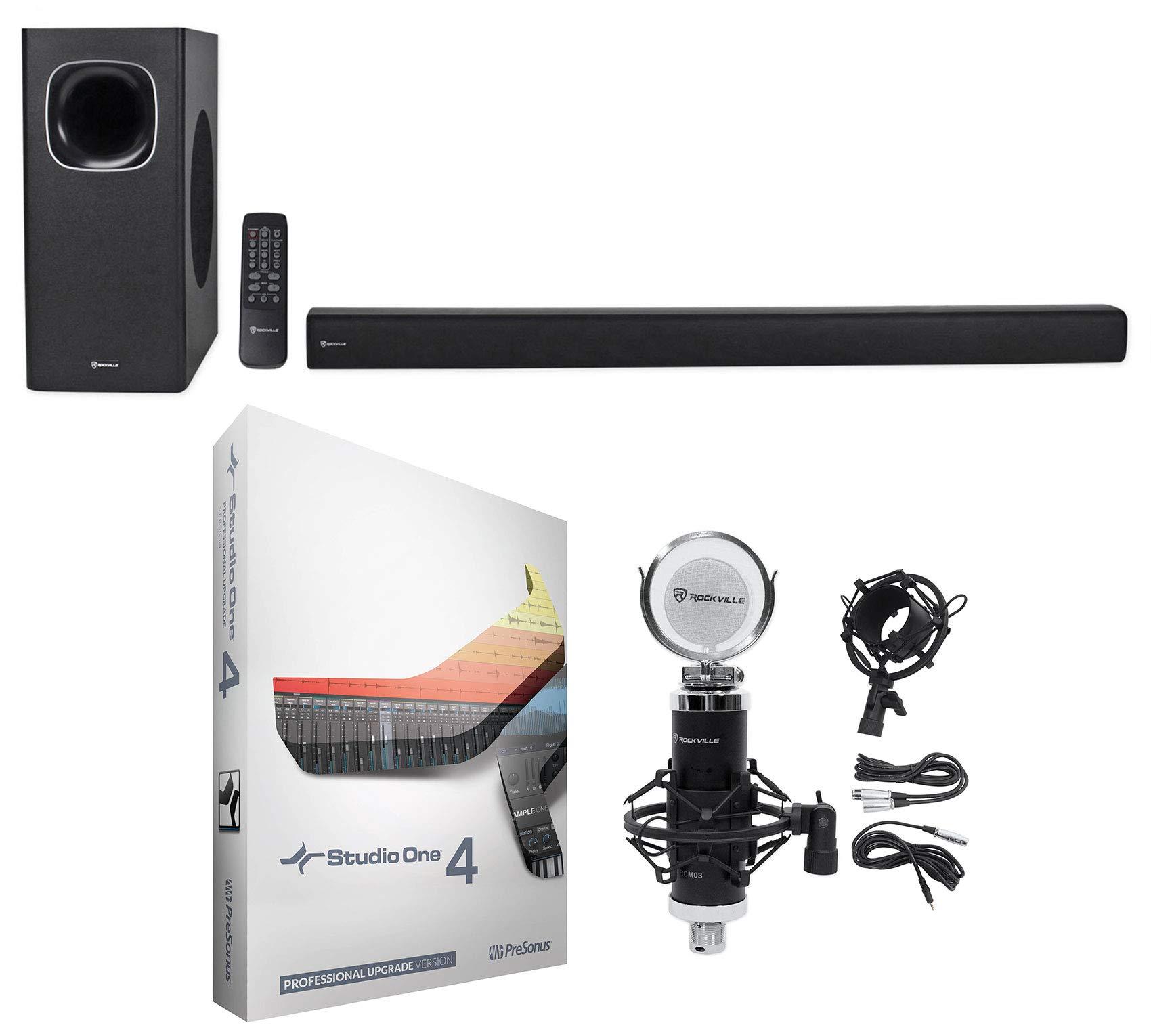 Presonus Studio One 4 Pro Upgrade from Artist/Producer+Soundbar+Microphone