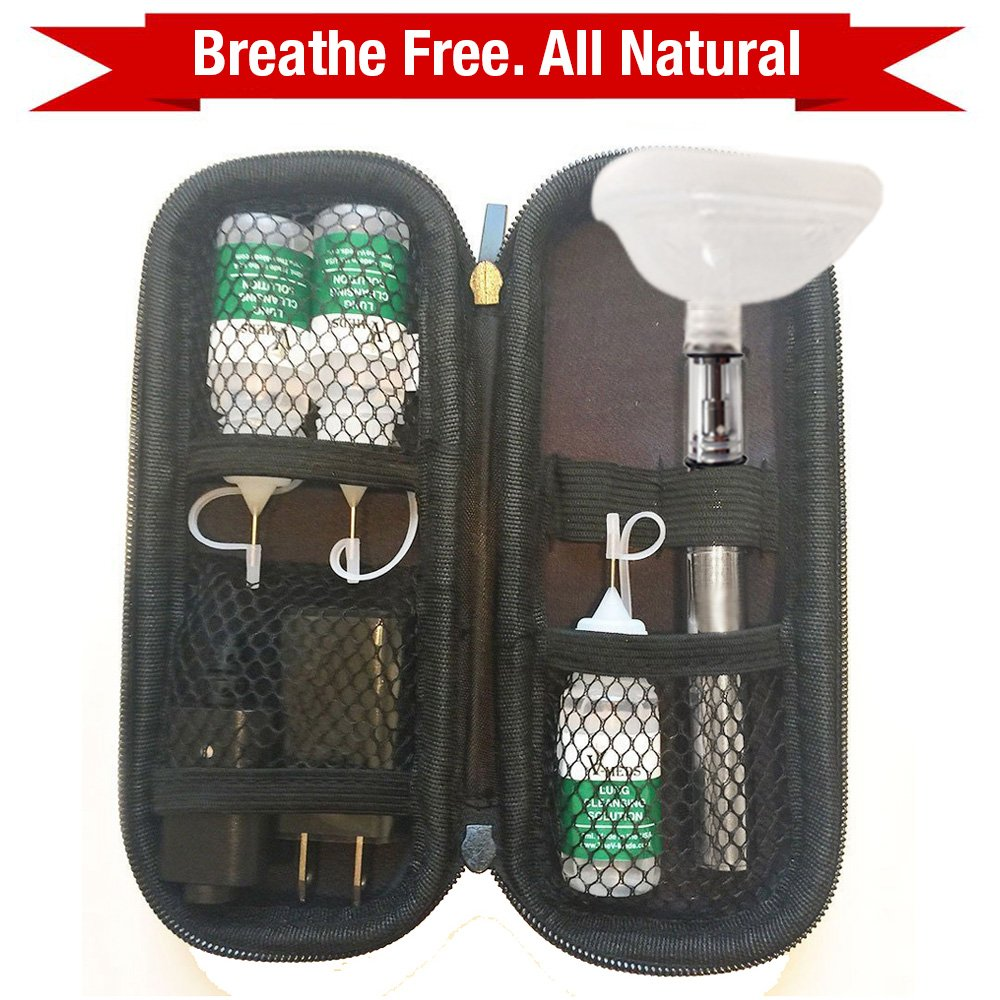 Clear Lungs Cleanse Natural Essential Oil Steam to Help Relieve the Symptoms of COPD