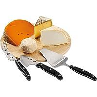 Domoclip MEN17 - Tabla para quesos con utensilios