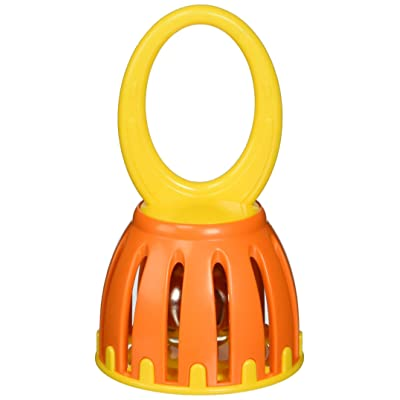 "Hohner Kids / 5"" Handled Cage Bell, Colors Vary: Musical Instruments"