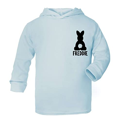 Personalised bunny name easter hoodie tops girls easter tops boys personalised bunny name easter hoodie tops girls easter tops boys easter cotton easter gifts negle Choice Image